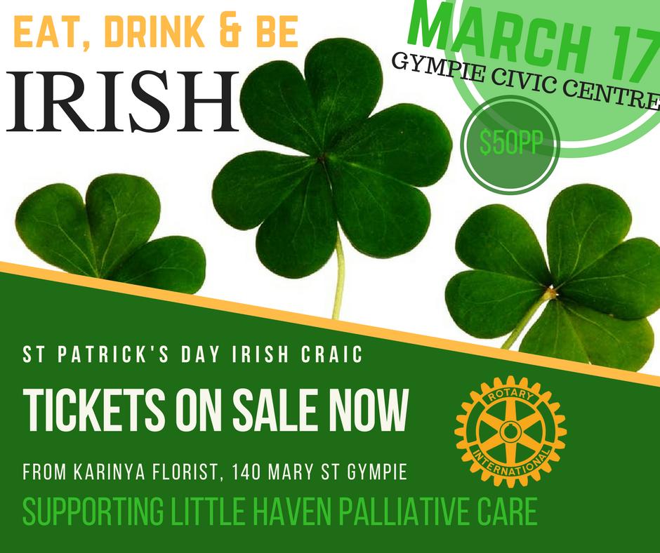 St Patrick's Day Irish Craic