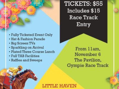Little Haven 2018 Melbourne Cup Lunch Tickets